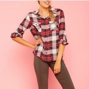 Timing Button Down Flannel